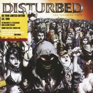 Disturbed-Ten-Thousand-Fists-special-Edition-Cd-Dvd-CD-2006-NEW