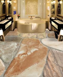 3D Simple Marble Style 9 Floor WallPaper Murals Wall Print Decal AJ WALLPAPER US