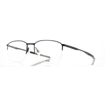 Oakley RX Eyeglasses OX3202-0254 Taproom 0.5 Polished Black Frame [54-18-139]