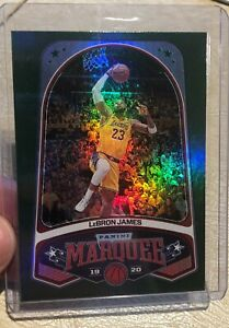 2019-20-Panini-Chronicles-Marquee-GREEN-Lebron-James-245-Los-Angeles-Lakers-SP