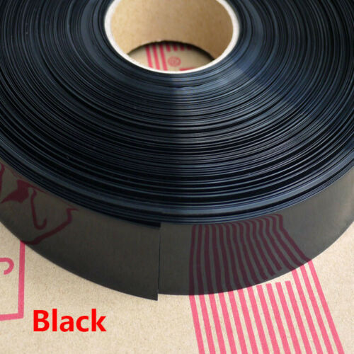 Width 50mm~100mm Φ44mm~Φ60mm PVC Heat Shrink Tubing Battery Sleeve Wrap Colorful