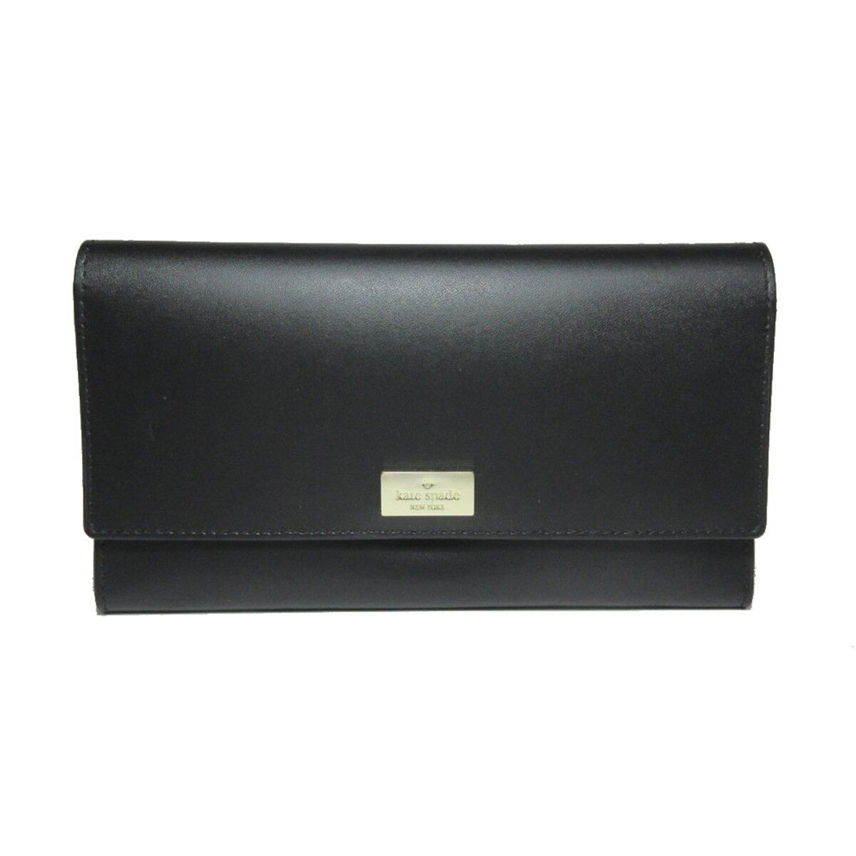 NWT KATE SPADE NEW YORK Putnam Drive CYRA Wallet Black Dolce Coin Gold 4871 NEW