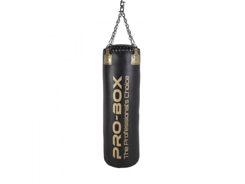 PRO scatola Punch borsa 4ft PUGILATO SACCO DA scatolaE appesi 35kg Riempito Borsa arti marziali
