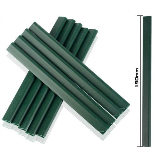 PVC Clip di Fissaggio guide di bloccaggio per blister PVC privacy strisce doppio Bastone Stuoie
