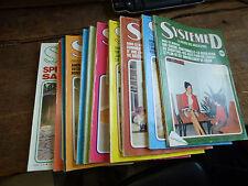 12 revues Système D de 1975 /  12 numéros  année complète  1975