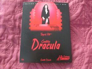 "COFFRET BLU-RAY + DVD ""COMTESSE DRACULA"" Ingrid PITT / La Hammer - horreur"