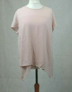 Creation L Short Sleeve Pink Blouse Size 18 Uk Cr099 Bb 25 Ebay