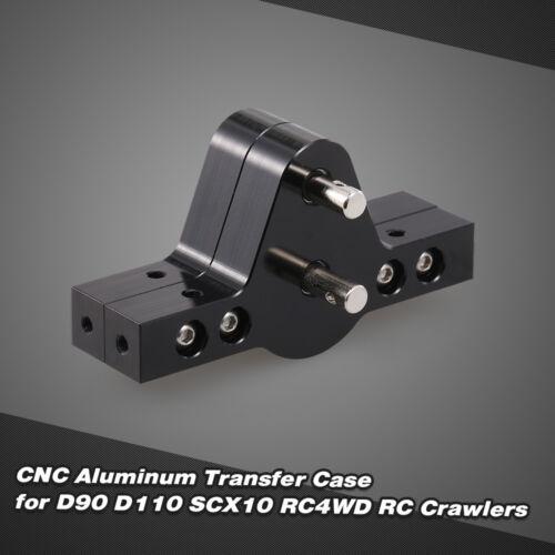 High Quality Metal Material CNC Aluminum Transfer Case For 1//10 RC Car T7C0