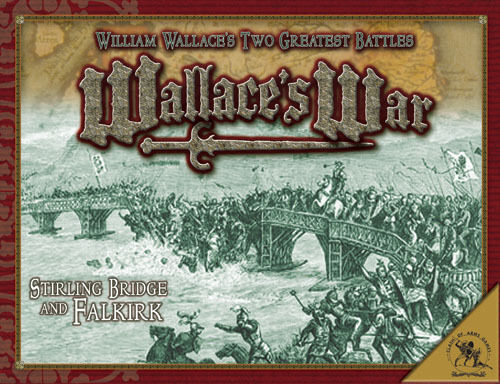 WALLACE'S WAR - CLASH OF ARMS GAMES - SEALED - SENT 1ST CLASS
