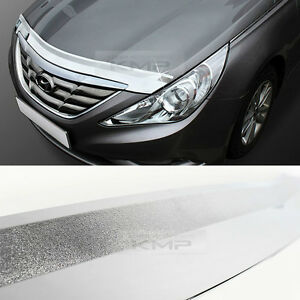 Chrome Bonnet Hood Guard Garnish Molding K897 For Hyundai
