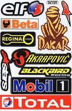 N-261 Sponsoren Sponsors Aufkleber Sticker 1 Bogen 27 x 18 cm Racing Tuning