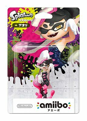 NEW Nintendo 3DS Wii U Amiibo Squid Sisters Callie Aori Splatoon Japan F/S