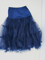 Lindy Bop Petticoat 28 Inches - Womens Us Xs-m - Navy -