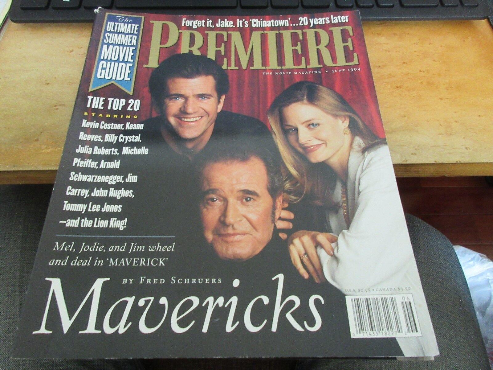 Mavericks , Mel , Jodie , Jim , Premiere Magazine , Jun