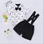 2pcs Newborn Kids Baby Boy Gentleman Clothes Romper Shirt+Bib Pants Outfit Set