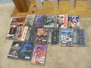 Lot of 15 OG HipHop Rap Cassette Tapes 80'S/90s BUSTA RHYMES, SCREWBALL JA RULE
