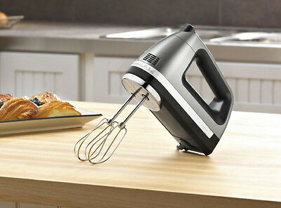 KitchenAid Powerful Hand Mixer rrKHM9c  KHM9c 9 speed DIGITAL Silver