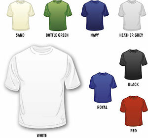 Personalized-Custom-Made-Printed-Men-039-s-Design-Your-Own-T-Shirts