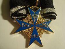 German Blue Max Pour le Merite Medal & ribbon