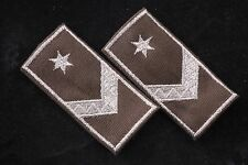 Hungary Hungarian Republic Sergeant őrmester NCO Field Shoulder Star Loop Tab