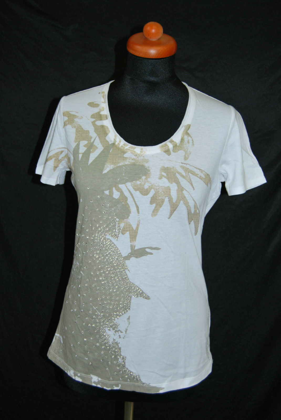 NICE CONNECTION Top Shirt Stretch WEICH NEU Gr. 36 Bestickt   99,-  EDEL D-1969