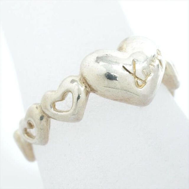 Kenzo heart motif design No. ring Silver 13 [ring] (411