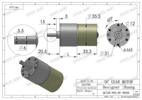 Rework Nozzle #1260 8.6x18mm SOP