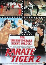 Karate Tiger 2 No Retreat No Surrender 2 Filmposter A1 Cynthia Rothrock Thayer
