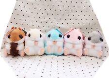 FULL SET OF 5 Kawaii Hamster Plushies Cute Pastel Plush Stuffie Gift Fairy Kei