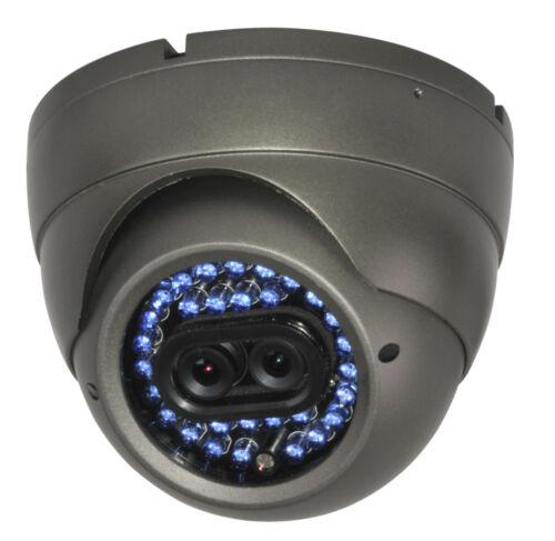 F3 DUAL LENS CCTV IR DOME Double CAMERA Vandal Proof DAY /& NIGHT VISION 600TVL