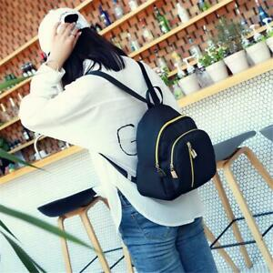 Women-Mini-Backpack-Nylon-Shoulder-School-Travel-Bag-Small-Casual-Rucksack-Tote