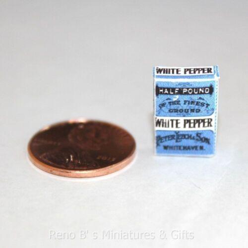 Dollhouse miniature food 1:12 White Pepper NEW