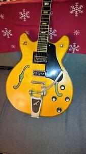 Espana Guitar, Vintage Dearmond Dynasonic Pickups, Vintage Bigsby