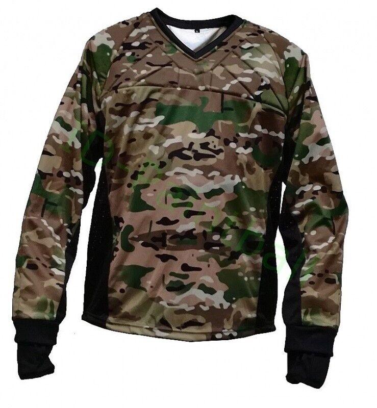 Multicamo Paintball Jersey Wüstentarn Camouflage
