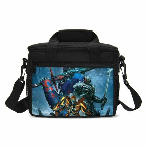 Transformers Backpack Optimus Prime Kids Schoolbag Set Lunch Bag Pen Case Lot