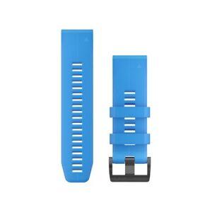 Cinturino-ricambio-QuickFit-26-Cyan-Blue-per-GARMIN-fenix-5x-art-010-12741-02