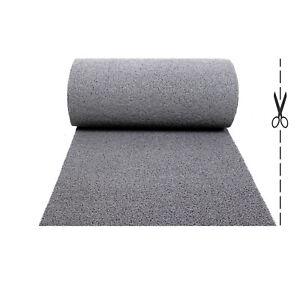 Olivo.Shop, Twist Grigio, tappeto antiscivolo in ricciolo vinilico per esterno