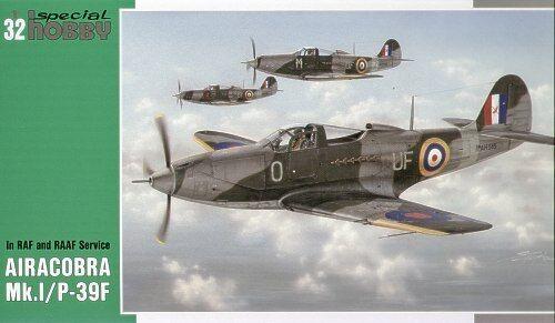 Special Hobby 1 32 32 32 Airacobra modello I   P-39F in RAF e RAAF SERVIZIO  32025 0c87eb