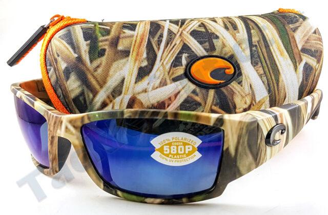 bb6cb5e6c4f Costa CB65OBMP Corbina Sunglasses 580P Blue Mirror Lens Mossy Oak Camo Frame