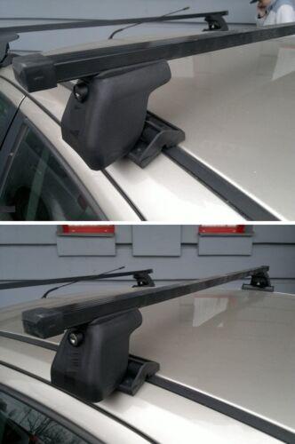 Lock 130cm Roof Bars C-15 2012-2019 BMW 1 Series F20 Hatchback Pair of