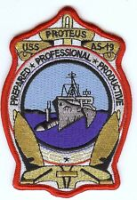 USS Proteus AS-19 Prepared Professional Productive Gold BC Patch Cat. No. C6719
