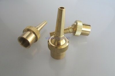 BRASS UNIVERSAL STRAIGHT-JETTING FOUNTAIN NOZZLE(MULTIPLE SIZES)