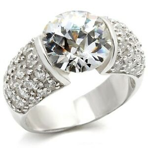 M20423PB  STERLING  SILVER SIMULATED DIAMOND RING WOMENS - LINCOLNSHIRE, United Kingdom - Returns accepted if faulty within 7 days. Most purchases from business sellers are protected by the Consumer Contract Regulations 2013 which give you the right to cancel the purchase within 14 days after the day you receive  - LINCOLNSHIRE, United Kingdom