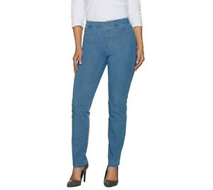 Isaac-Mizrahi-Regular-24-7-Denim-Straight-Leg-Jeans-Light-Indigo-Size-6-QVC