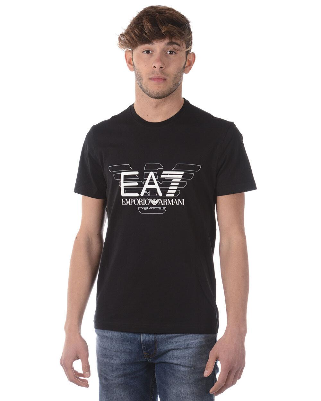 T shirt emporio armani ea7 mens schwarz 3zpt45pj30z 1200 make offer tl xxl
