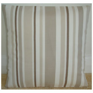 NEW-16-034-Cushion-Cover-Stripes-Beige-Cream-Taupe-Brown-Stripe-Striped-Neutral