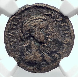 PLAUTILLA-wife-of-CARACALLA-Ancient-Roman-Coin-of-SILLYUM-Pamphylia-NGC-i80647