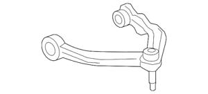 Genuine Volvo Upper Control Arm 31360633