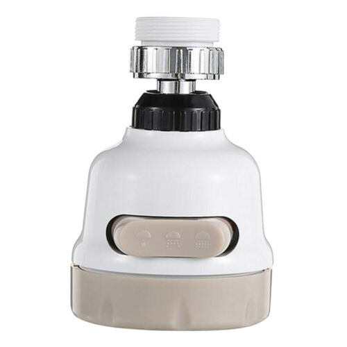 Water Saving Faucet Filter Kitchen Connector Tap Aerator 360° Rotation Swivel