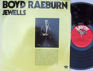 Boyd-Raeburn-ORIG-US-2LP-Jewells-NM-80-Savoy-SJL2250-Jazz-Bop